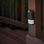 Deck-mounted LED lighting image via Pegasus Lighting