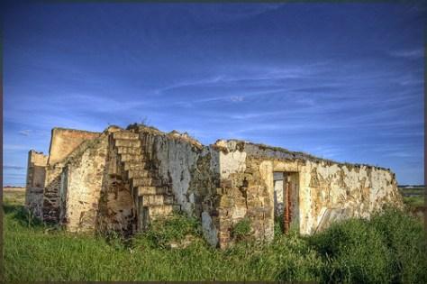 Abandoned Stone Foundation
