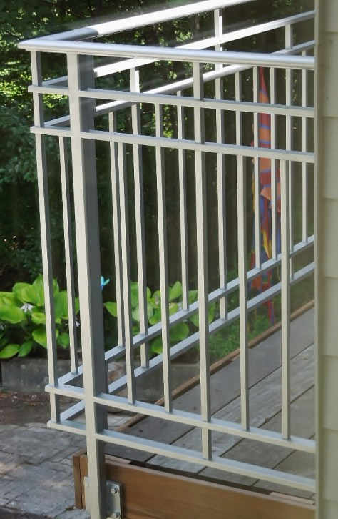 New Custom Designed Contemporary Railings