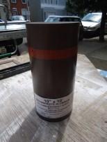 10 Inch Coil Stock Brown White Aluminum