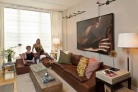 Small Stylish DC Living Room Chesapeake Home