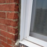 Replacement Window on Brick after Formstone Removed