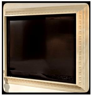 Crown Molding Ideas :: Crown Molding TV Frame