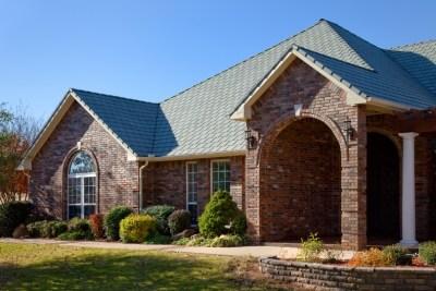 Bellaforte from Davinci Slate Verde Roof on Brick