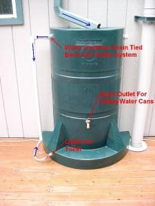 Rain Water Harveseting Barrel Labeled image via Paul Michael