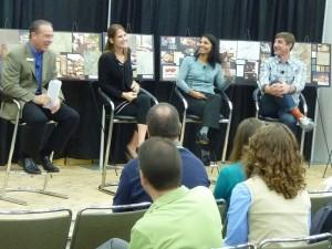 Collaborating on Houzz :: Wilsonart Panel Looks for Less