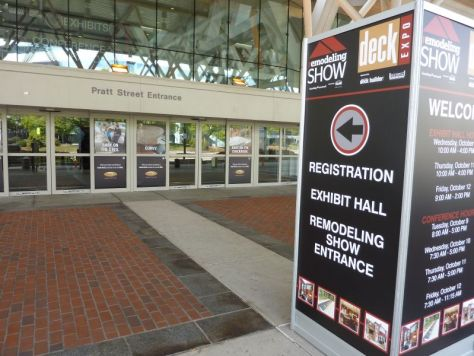 Entrance 2012 Remodeling Show Baltimore