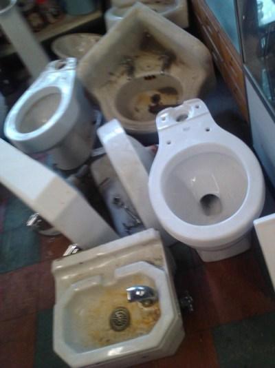 plumbing graveyard