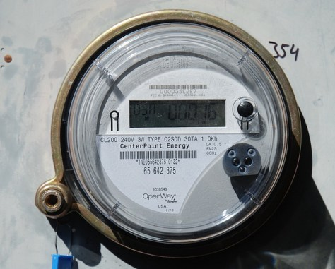 close up of an energy meter via flickr
