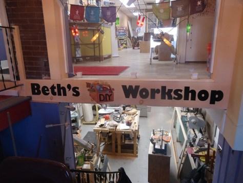 entrance of Beth s DIY Workshop