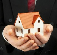 house in hands photo