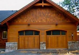 Garage Door Materials Wood