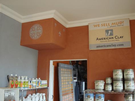 American Clay walls.
