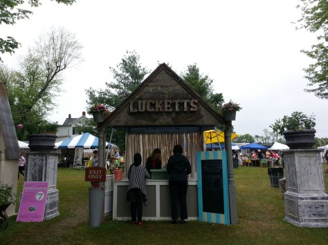 Spring Wrap Up Lucketts Spring Market Entrance
