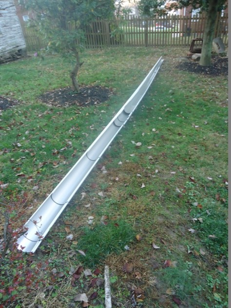 gutters run and delivered