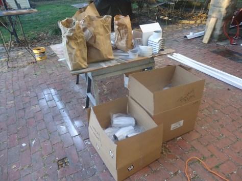half round gutter supply package
