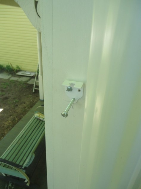 no.10 drive for downspout