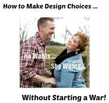 Design as Battle of the Sexes