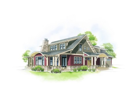 American Home Style :: Craftsman Bungalow