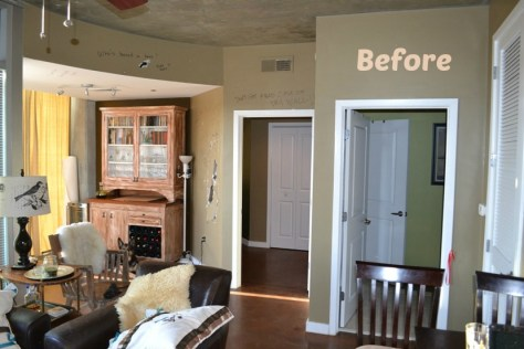 DIY Renovation of Architects Condo Before