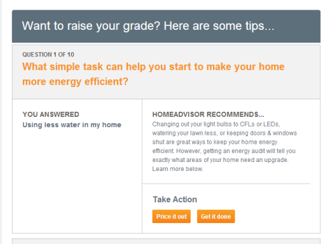 Home Advisor Quiz Raise Your Grade