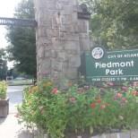 Piedmont Park West Entrance