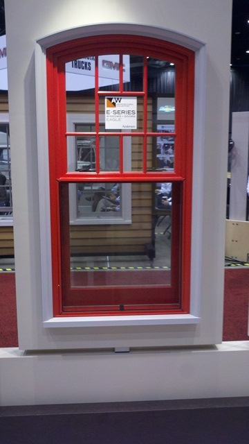 Andersen Windows Red Outside