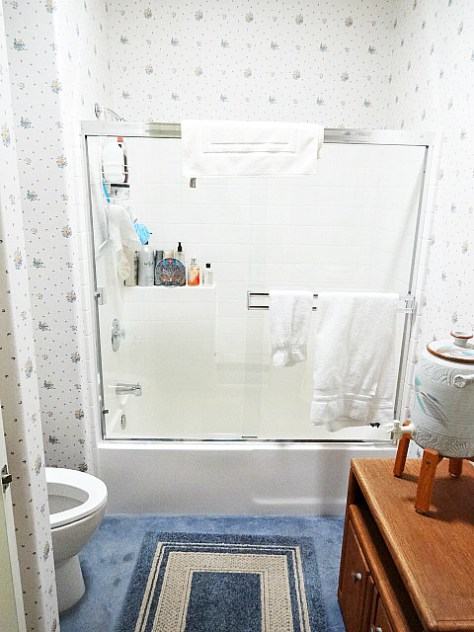 standard shower enclosure