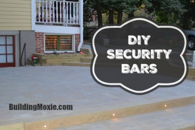 DIY Security Bars