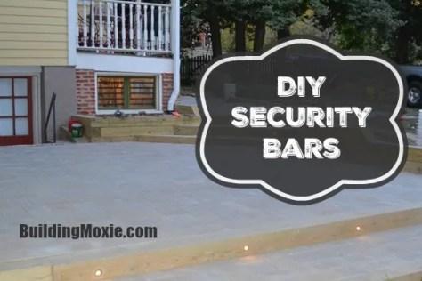 DIY Security Bars