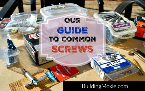 Guide to Common Screws
