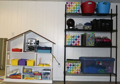 basement finishing ideas :: basement storage