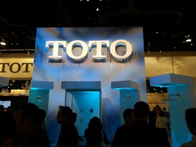 TOTO USA booth KBIS