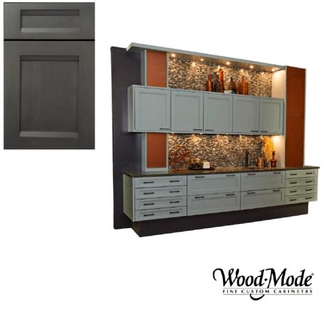 Wood-Mode Linear door style