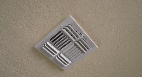 overhead ac vent register