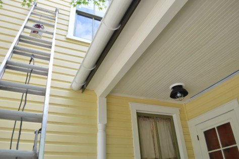 Porch Roof Progress