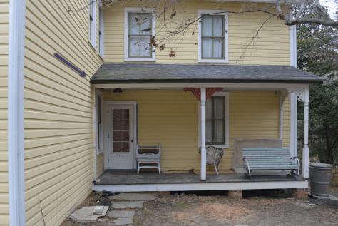 sad & sagging front porch roof