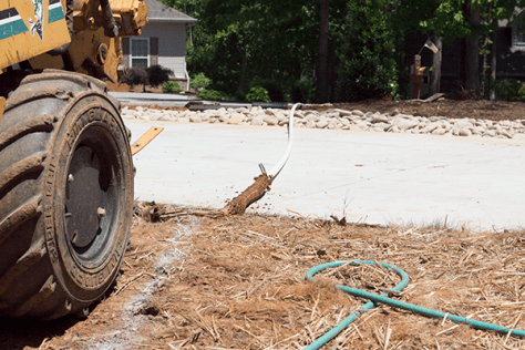 Laying Irrigation Pipe