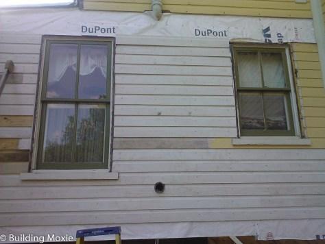 Repairing Dutch Lap Wood Siding - Patching Siding In