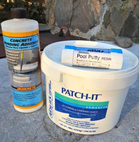 Concrete Pond Repair Products