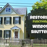 Restoring Functional Window Shutters