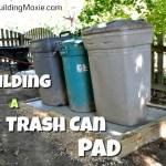 Trash Can Pad