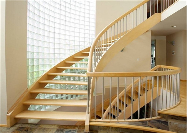 Diy Installation Building Curved Stairs With Tempered Glass   Diy Curved Stair Railing   Spiral Staircase   Glass   Staircase Makeover   Stair Case   Railing Ideas