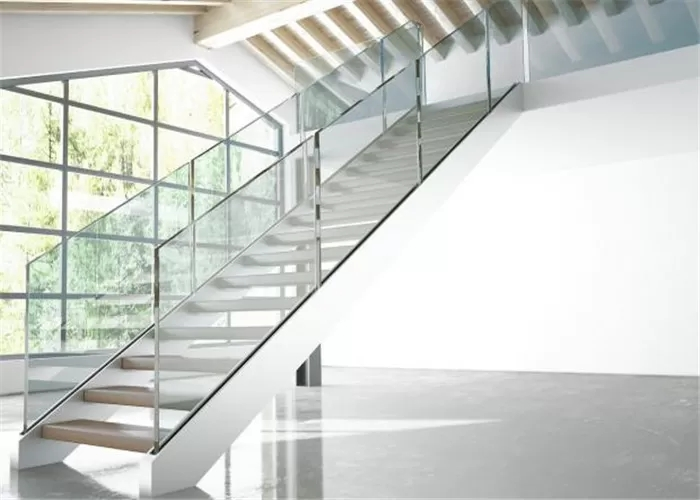 Double Side Plate Steel Structure Staircase Open Riser Indoor With | Staircase Side Railing Designs | Stair Pattern | Simple | Residential | Italian | Entrance