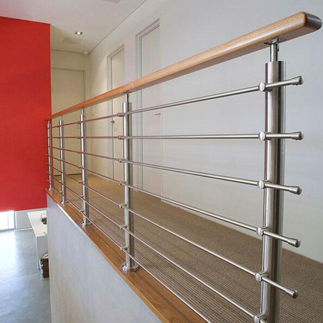 316 304 Stainless Steel Stair Railing 12 7Mm Rod Diameter Indoor   Stainless Steel Stair Railing   Price   Wall   Outdoor   Vertical   Golden
