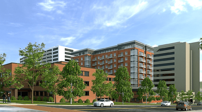 The proposed ICO development as designed by CSRA Architects.