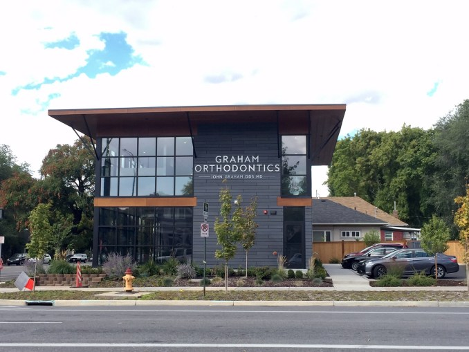 Northstar recently finished a mixed-used building on the 700 East block of 900 South. Photo by Isaac Riddle.