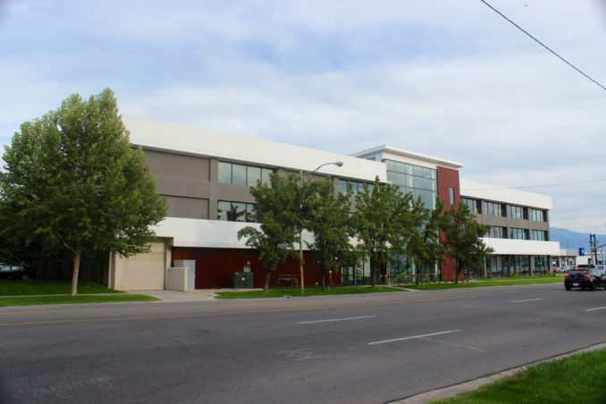 The headquarters of the School Improvement Network at seen from West Temple. Image by Isaac Riddle.
