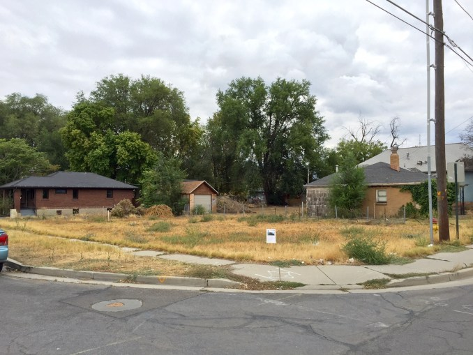 The site of the proposed Richard Street Condos. Photo by Isaac Riddle.