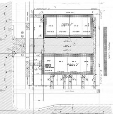 Site plan for the 2nd and 2nd Apartments. Image courtesy Salt Lake City.